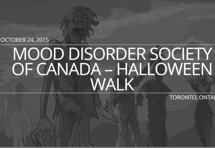 Mood Disorder Society of Canada - Halloween Walk