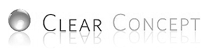 clear concept logo